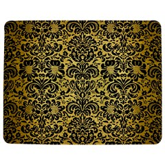 Damask2 Black Marble & Gold Brushed Metal (r) Jigsaw Puzzle Photo Stand (rectangular)