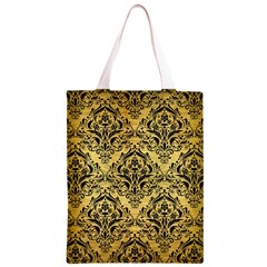 DMS1 BK MARBLE GOLD (R) Classic Light Tote Bag