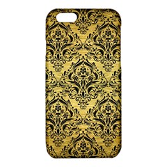 DMS1 BK MARBLE GOLD (R) iPhone 6/6S TPU Case