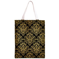 DMS1 BK MARBLE GOLD Classic Light Tote Bag
