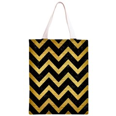 CHV9 BK MARBLE GOLD Classic Light Tote Bag