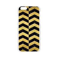 CHV2 BK MARBLE GOLD Apple Seamless iPhone 6/6S Case (Transparent)