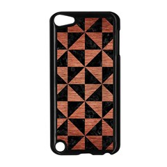 Triangle1 Black Marble & Copper Brushed Metal Apple Ipod Touch 5 Case (black)