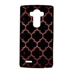 Tile1 Black Marble & Copper Brushed Metal Lg G4 Hardshell Case
