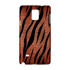 Skin3 Black Marble & Copper Brushed Metal (r) Samsung Galaxy Note 4 Hardshell Case