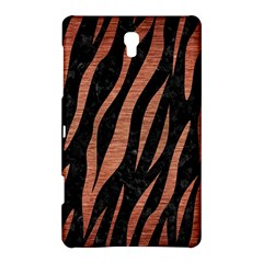 Skin3 Black Marble & Copper Brushed Metal Samsung Galaxy Tab S (8 4 ) Hardshell Case