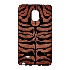 Skin2 Black Marble & Copper Brushed Metal (r) Samsung Galaxy Note Edge Hardshell Case