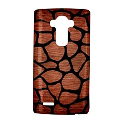 Skin1 Black Marble & Copper Brushed Metal Lg G4 Hardshell Case