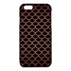 SCA1 BK MARBLE COPPER iPhone 6/6S TPU Case