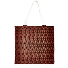 HXG1 BK MARBLE COPPER (R) Grocery Light Tote Bag