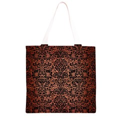 DMS2 BK MARBLE COPPER (R) Grocery Light Tote Bag