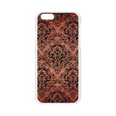 DMS1 BK MARBLE COPPER (R) Apple Seamless iPhone 6/6S Case (Transparent)