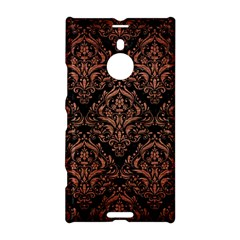 Damask1 Black Marble & Copper Brushed Metal Nokia Lumia 1520 Hardshell Case