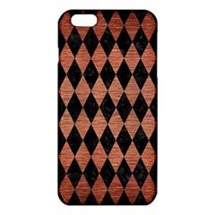 DIA1 BK MARBLE COPPER iPhone 6 Plus/6S Plus TPU Case
