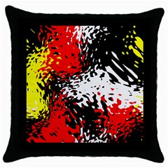 Glass Texture  			throw Pillow Case (black)