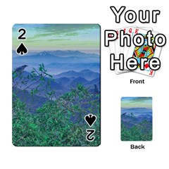 Fantasy Landscape Photo Collage Playing Cards 54 Designs
