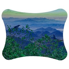 Fantasy Landscape Photo Collage Jigsaw Puzzle Photo Stand (Bow)