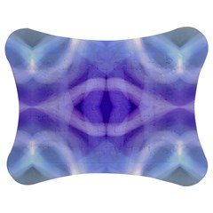 Beautiful Blue Purple Pastel Pattern, Jigsaw Puzzle Photo Stand (Bow)