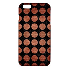 CIR1 BK MARBLE COPPER iPhone 6 Plus/6S Plus TPU Case