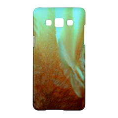 Floating Teal And Orange Peach Samsung Galaxy A5 Hardshell Case