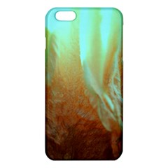 Floating Teal and Orange Peach iPhone 6 Plus/6S Plus TPU Case