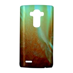 Floating Teal and Orange Peach LG G4 Hardshell Case