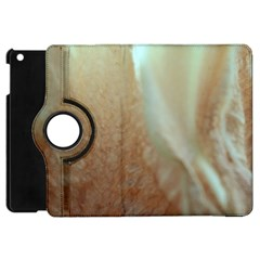 Floating Subdued Orange And Teal Apple Ipad Mini Flip 360 Case