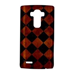 SQR2 BK MARBLE BURL LG G4 Hardshell Case