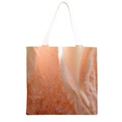 Floating Subdued Peach Grocery Light Tote Bag