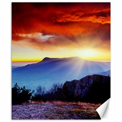 beautiful scene photo Canvas 8  x 10  (Unframed)