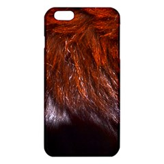 Red Hair iPhone 6 Plus/6S Plus TPU Case