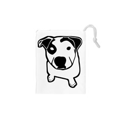 Pit Bull T-Bone Graphic Drawstring Pouch (XS)