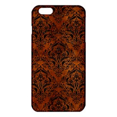 DMS1 BK MARBLE BURL (R) iPhone 6 Plus/6S Plus TPU Case