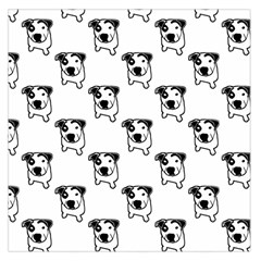 Pit Bull T Bone Graphic Large Satin Scarf (square)