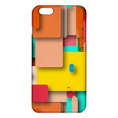 Rounded Rectangles Iphone 6 Plus/6s Plus Tpu Case