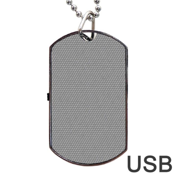 Modern Design 3 Dog Tag USB Flash (One Side)