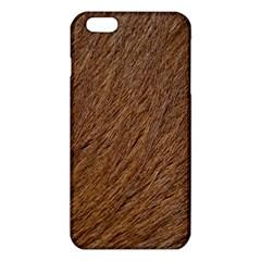 Orange Fur iPhone 6 Plus/6S Plus TPU Case