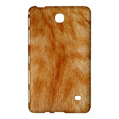 Orange Fur 2 Samsung Galaxy Tab 4 (8 ) Hardshell Case