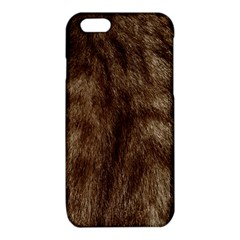 Silber Tiger Fur iPhone 6/6S TPU Case