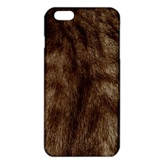 Silber Tiger Fur iPhone 6 Plus/6S Plus TPU Case