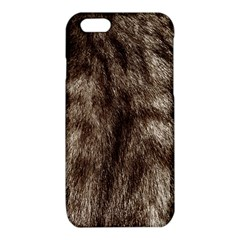 Black and White Silver Tiger Fur iPhone 6/6S TPU Case