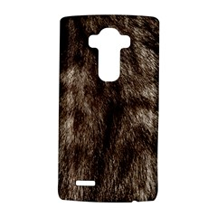 Black and White Silver Tiger Fur LG G4 Hardshell Case