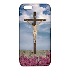 Jesus On The Cross Illustration iPhone 6/6S TPU Case