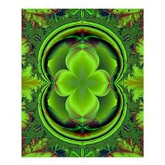 Green Clover Shower Curtain 60  X 72  (medium)
