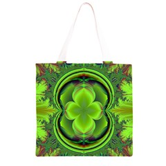 Green Clover Grocery Light Tote Bag