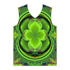 Green Clover Men s Basketball Tank Top