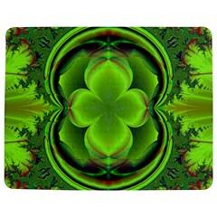 Green Clover Jigsaw Puzzle Photo Stand (Rectangular)