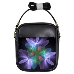 Ethereal Flowers Girls Sling Bags