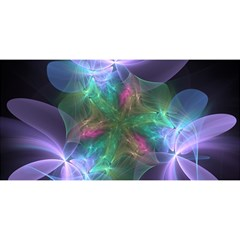 Ethereal Flowers You Are Invited 3d Greeting Card (8x4)