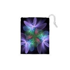 Ethereal Flowers Drawstring Pouches (XS)